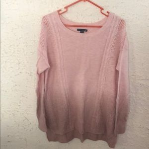 Pink Ombré sweater